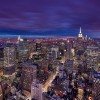 Location : New York, USA - This Image was taken from the Top of the Rock Observation Deck and is displayed here with permission from Top of the Rock, L.L.C