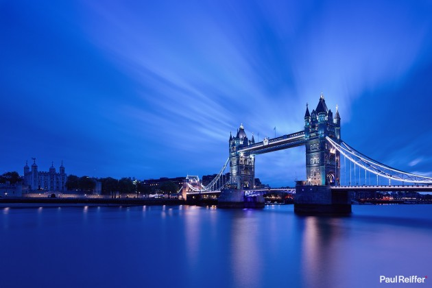 "Location : London, United Kingdom <a href=""https://www.paulreiffer.com/buy-prints/tower-blues/"">- Buy the limited edition print</a>"