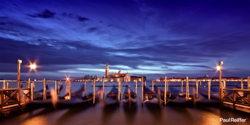 "Location : Venice, Italy <a href=""https://www.paulreiffer.com/buy-prints/venezia/"">- Buy the limited edition print</a>"