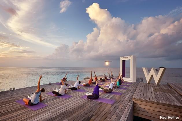Client : Tara Stiles/Reebok/W Hotels, Maldives