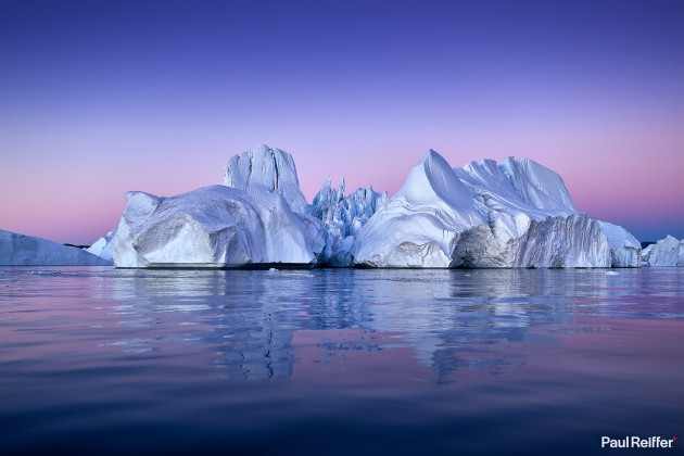 Commercial Image Licensing - Greenland Disko Bay Iceberg