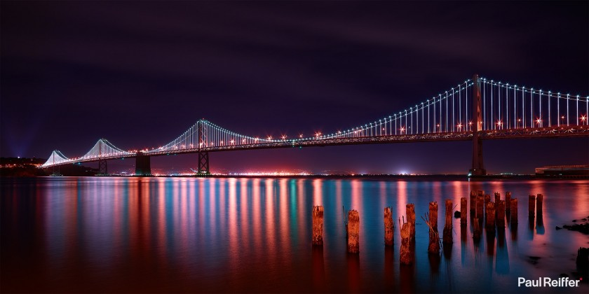 Commercial Image Licensing - San Francisco Bay Bridge