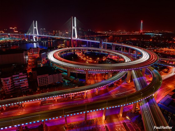 Commercial Image Licensing - Shanghai Nanpu Bridge