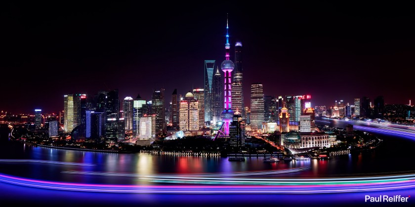 Commercial Image Licensing - Shanghai Lujiazui
