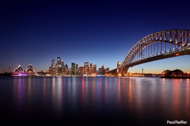 Commercial Image Licensing - Sydney Harbour Skyline