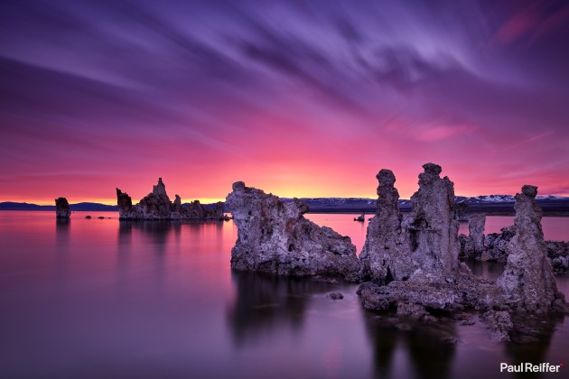 Location : Mono Lake, USA