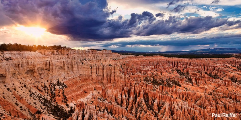 """Location : Bryce Canyon, USA <a href=""""https://www.paulreiffer.com/buy-prints/rock-of-ages/"""">- Buy the limited edition print</a>"""
