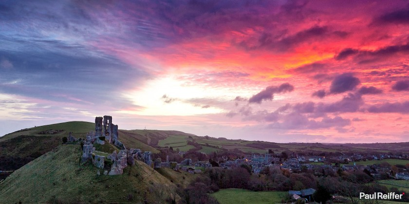 """Location : Dorset, United Kingdom <a href=""""https://www.paulreiffer.com/buy-prints/king-of-the-castle/"""">- Buy the limited edition print</a>"""