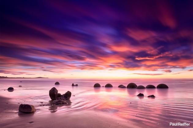Location : Moeraki, New Zealand
