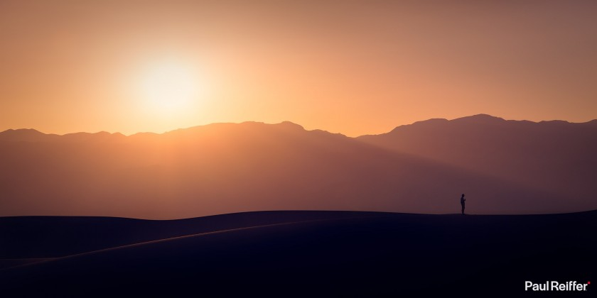 "Location : Death Valley, USA <a href=""https://www.paulreiffer.com/buy-prints/time-for-coffee/"">- Buy the limited edition print</a>"