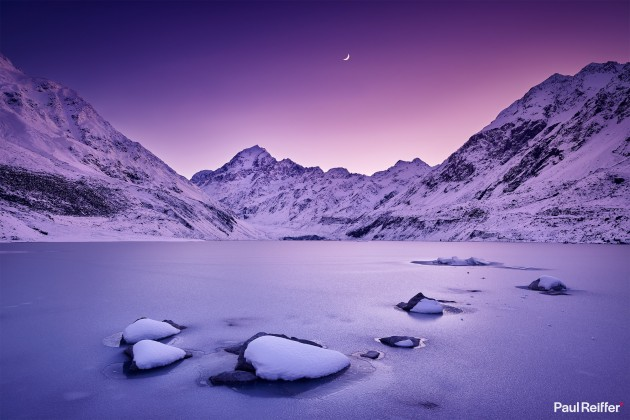 Location : Mt Cook, New Zealand