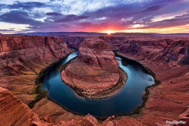 "Location : Arizona, USA <a href=""https://www.paulreiffer.com/buy-prints/horseshoe-bend/"">- Buy the limited edition print</a>"