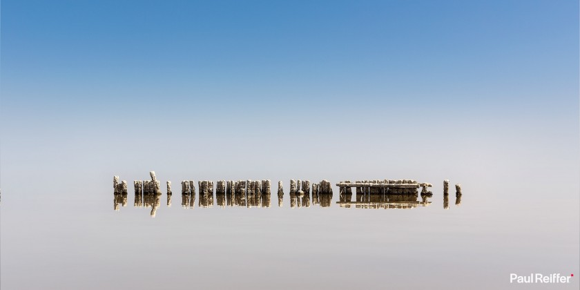"Location : Salton Sea, USA <a href=""https://www.paulreiffer.com/buy-prints/no-horizon/"">- Buy the limited edition print</a>"