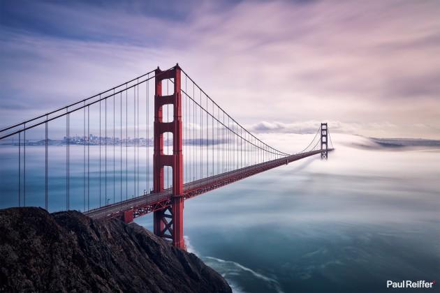 "Location : San Francisco, USA <a href=""https://www.paulreiffer.com/buy-prints/fog-city/"">- Buy the limited edition print</a>"
