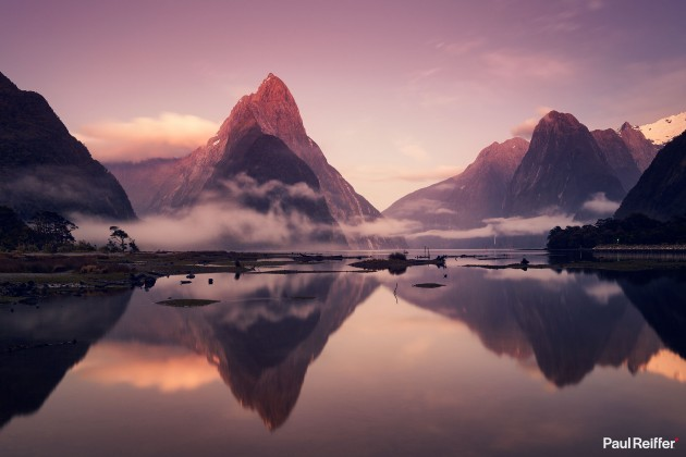 "Location : Milford Sound, New Zealand <a href=""https://www.paulreiffer.com/buy-prints/the-sound-of-silence/"">- Buy the limited edition print</a>"