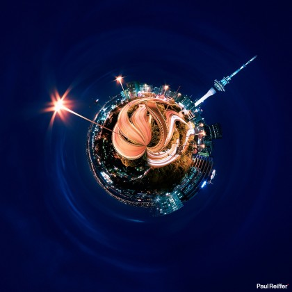 Tiny Planets - Auckland 2
