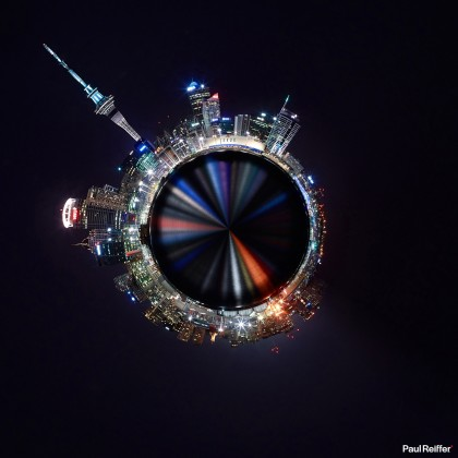Tiny Planets - Auckland 1