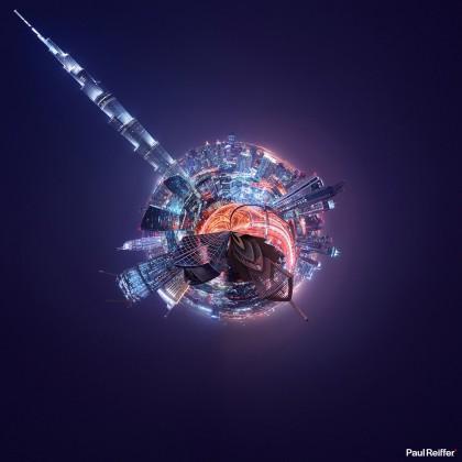Tiny Planets - Dubai 1
