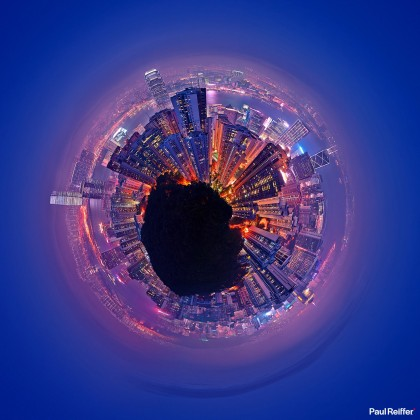 Tiny Planets - Hong Kong 1