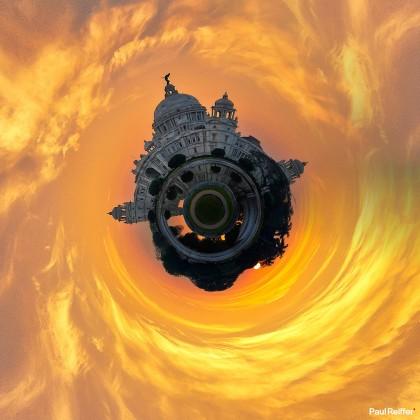 Tiny Planets - Kolkata