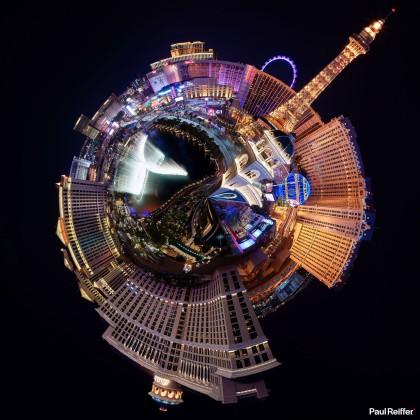 Tiny Planets - Las Vegas