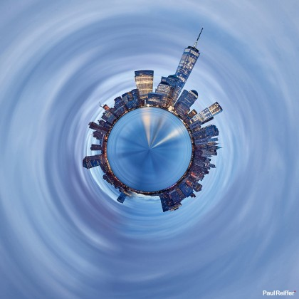 Tiny Planets - New York 1