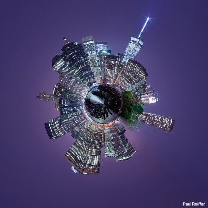 Tiny Planets - New York 3