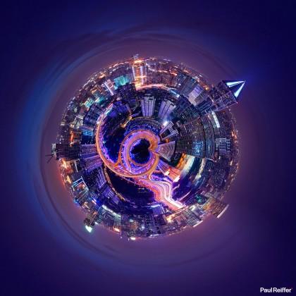 Tiny Planets - Shanghai 1