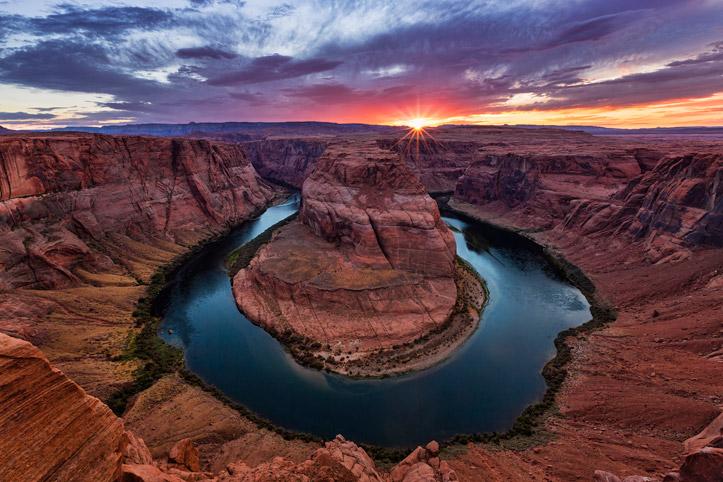 HorseShoe Bend Arizona Colorado River Free Desktop Background Wallpapers Download Sunset Paul Reiffer Photographer Landscape