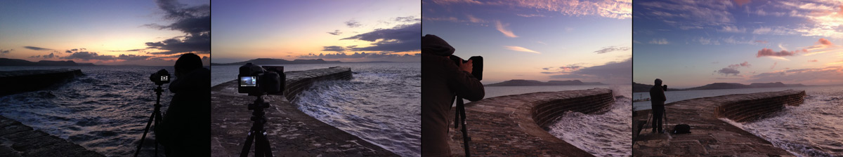 Photographing The Cobb Lyme Regis Bay Paul Reiffer Behind The Scenes Professional Photographer