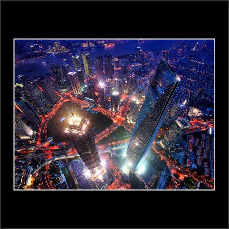 Buy Prints Cityscape Limited Edition Preview Dont Look Down Shanghai Tower SWFC Jin Mao China Skyscrapers Night Megascraper