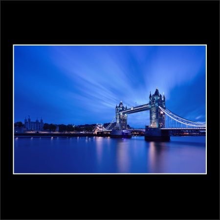 product picture Tower Blues Bridge London City Cityscape Morning Hour Lights River Thames buy limited edition print paul reiffer photograph photography