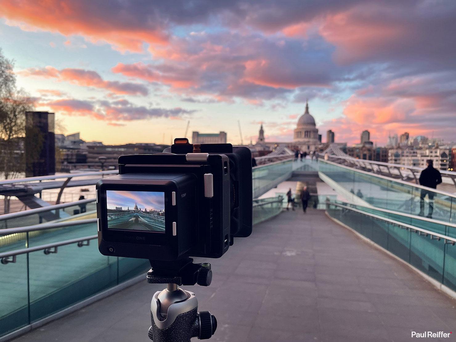 BTS New Beginnings St Pauls Millennium Bridge City Of London Sunset Frame Averaging Polar Pro Filters Long Exposure Phase One Sky Paul Reiffer Landscape Photographer