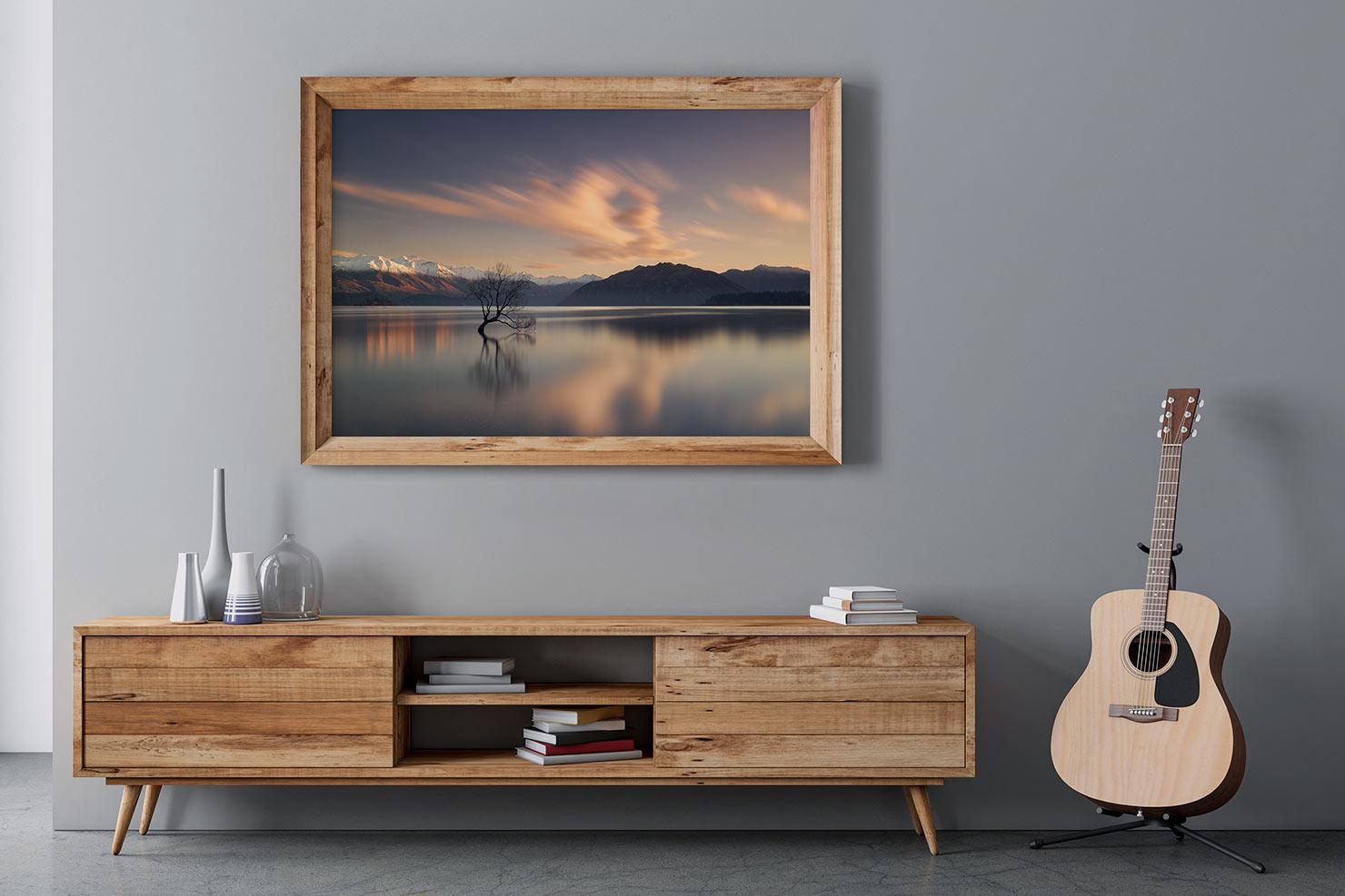 presence lake wanaka tree new zealand room view paul reiffer fine art limited edition photograph print